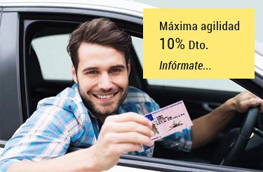Renovar carnet coche
